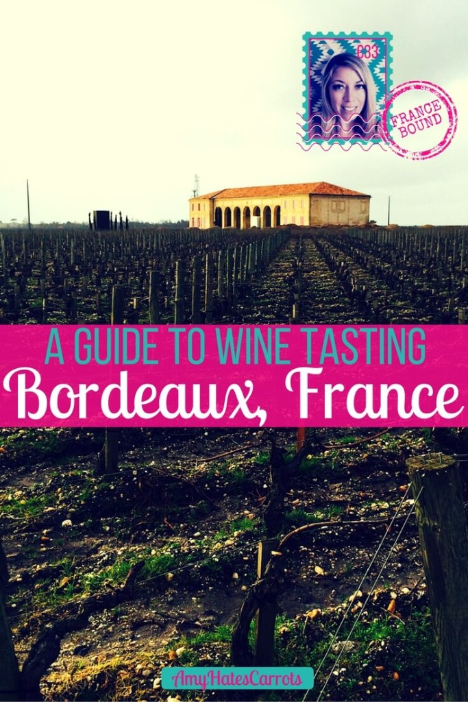 A guide to wine tasting in Bordeaux | Wine tasting in Bordeaux is a fabulous way to explore the French countryside. Taste the terroir in gorgeous chateaux while learning about the art of wine making from the French...à votre sauté! [Cheers!]