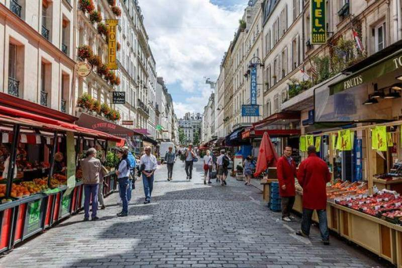 Rue Cler in Paris | Courtesy of hotels combined.com
