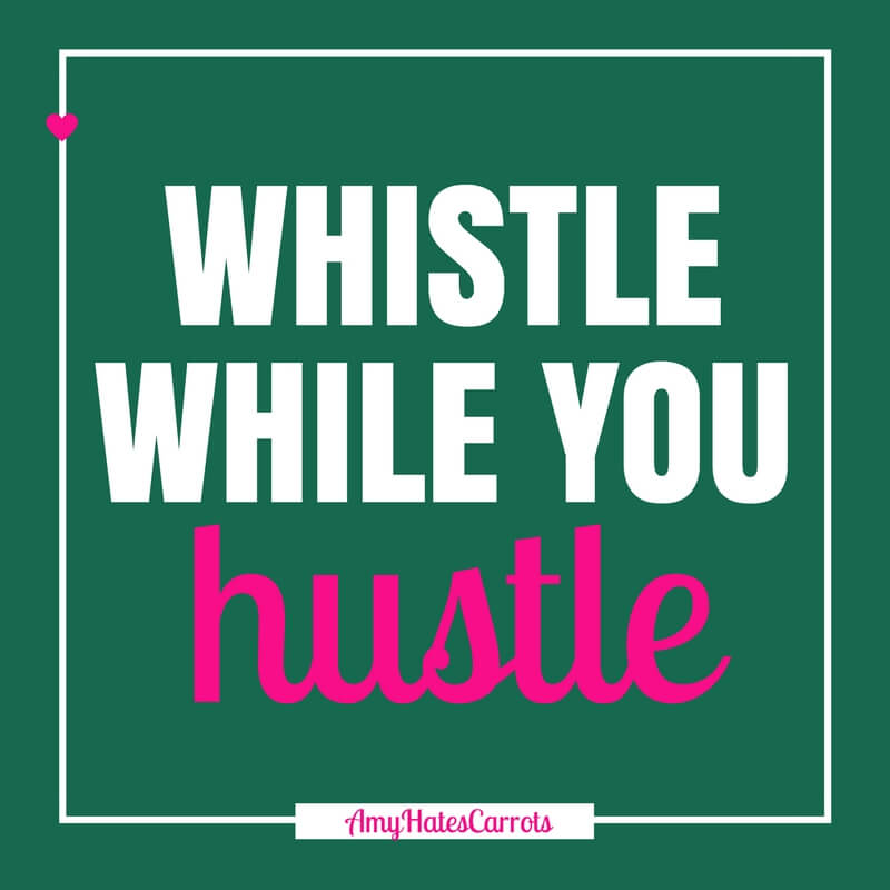 Whistle while you hustle! Get a super handy blog post checklist [before & after clicking publish] here!