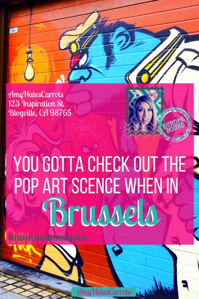 The Pop art in Brussels adds color and cheer to this already magical city. Get a glimpse with this photo gallery and I hope the accidental travel tips of mine bring a giggle to your day!