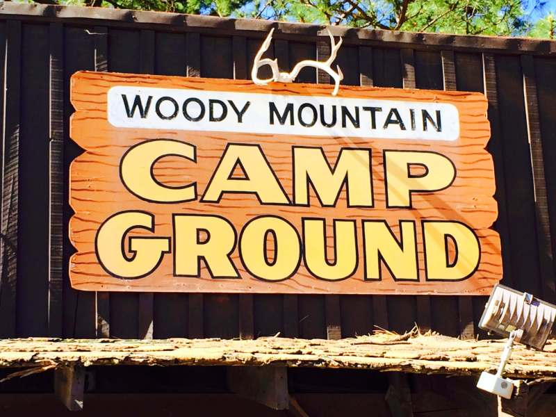 Woody Mountain Camp Ground in Flagstaff, AZ was the perfect stop after hiking the Grand Canyon all day.