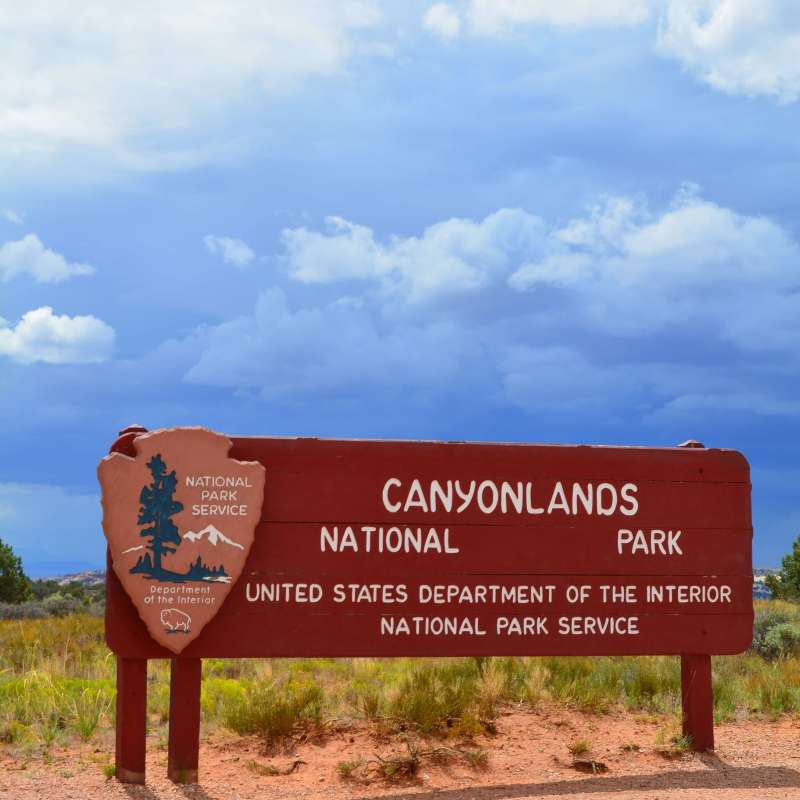 Canyonlands National Park is one of five gorgeous national parks throughout Utah. I visited them on my solo 48 state road trip and I cannot recommend enough that you go explore them all!