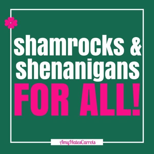 Happy St Patrick's Day! Shamrocks & Shenanigans for all!! :D
