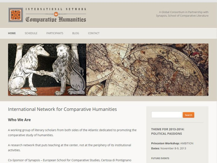 International Network for Comparative Humanities