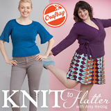 These lovely photos, by Karen Pearson, are from my Knit to Flatter book and are used with permission.