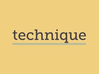 Card_Technique