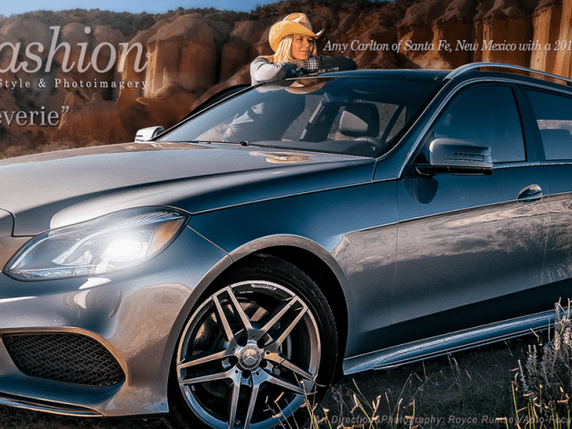 Mercedes-Benz E350 Auto Fashion Advertisement