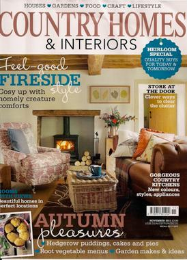 Country Homes & Interiors November 2011