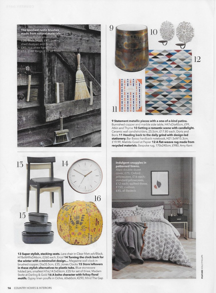 Country Homes & Interiors Oct 2019
