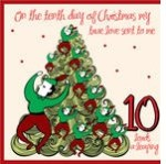 stock-vector-the-days-of-christmas-tenth-day-ten-lords-a-leaping-81900403