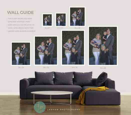 Living Room Wall Guide Portrait