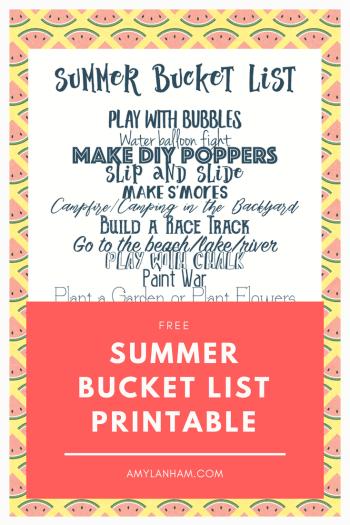 Summer Activites