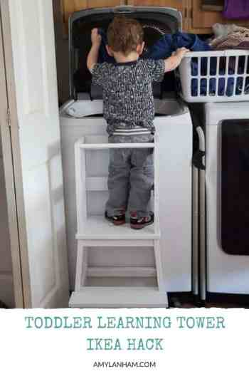 Toddler Learning Tower - Ikea Bekvam Hack