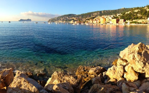 Villefranche with cruise ship_2762