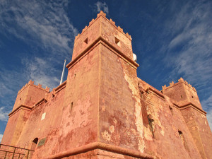 The Red Tower.