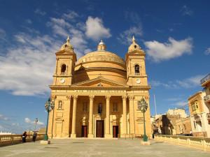 """Malta's """"egg church."""""""