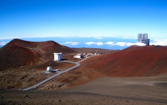 An array of telescopes atop Mauna Kea provide some of the world's best stargazing.