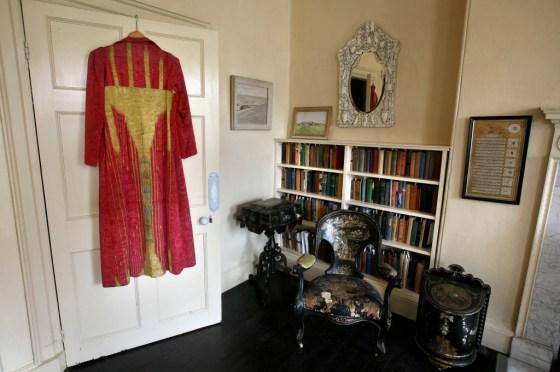 Agatha Christie's bedroom at Greenway. ©NTPL:Mark Passmore