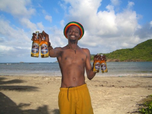 Drinking a toast to the pleasures--and perils--of St. Lucia