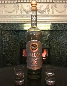Beluga Gold Vodka at Brown's Hotel