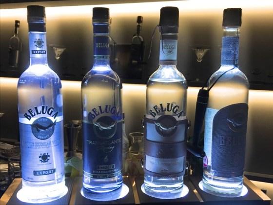 Beluga Vodka Range at Donovan's Bar