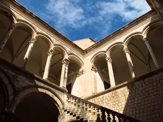 Courtyard of the Rector's Palace in Dubrovnik