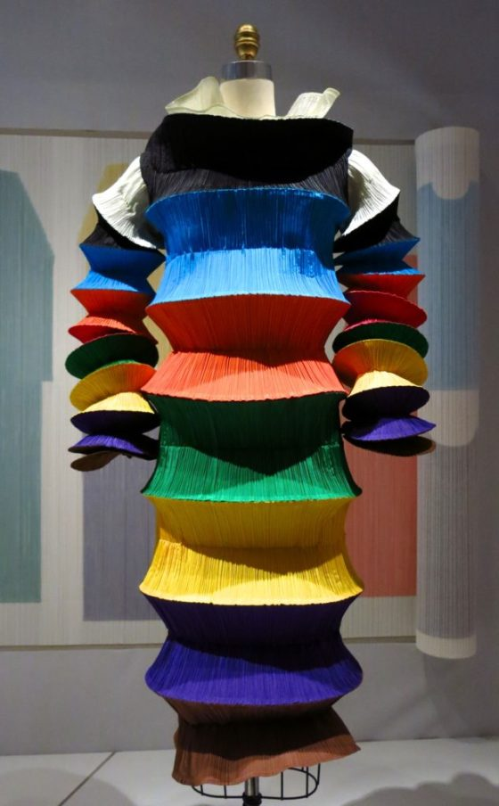 """""""Flying Saucer"""" Dress by Issey Miyake for Miyake Design Studio, spring/summer 1994 prêt-à-porter. Courtesy of The Miyake Issey Foundation. Photo © Amy Laughinghouse"""