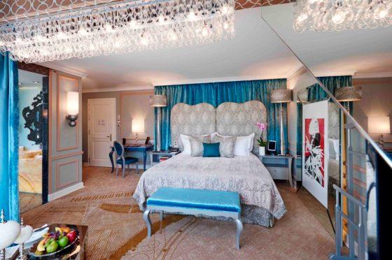 The Franz Liszt room, courtesy the Aria Hotel Budapest