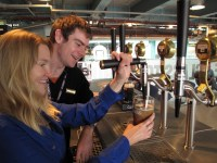 You can learn to pour the perfect pint at Dublin's Guinness Storehouse, the top paid attraction in Ireland.