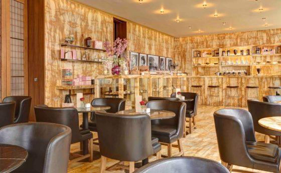 The Cafe at Hotel Cafe Royal. Courtesy Hotel Cafe Royal.
