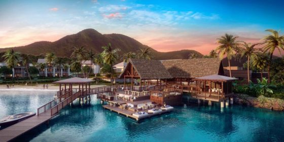 Park Hyatt St. Kitts will open on Banana Beach this summer. Courtesy Park Hyatt St. Kitts