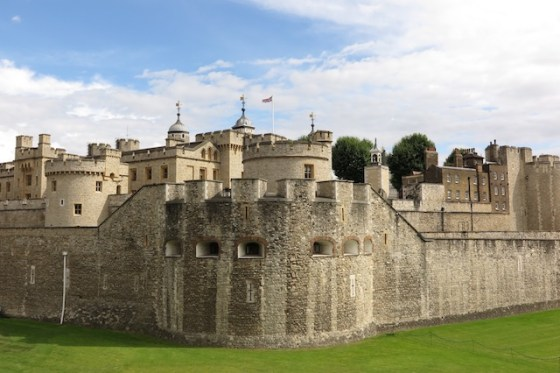 The Tower of London. Copyright Amy Laughinghouse.