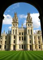 All Souls College in Oxford, England