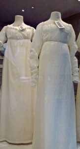 The Fashion Museum, in the basement of the Assembly Rooms, features displays of several centuries of clothing, including the early 1800s, when Jane Austen lived in Bath.