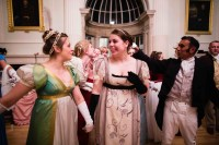 A Regency Ball, held in Jane Austen's honour.