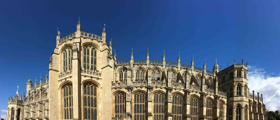 St. George's Chapel at Windsor Castle, where Prince Harry will wed Meghan Markle. copyright Amy Laughinghouse