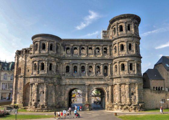 Porta Nigra Roman gate, Trier, Germany