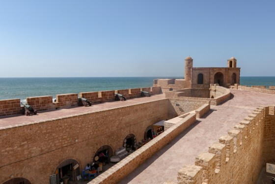 "The ramparts of Essaouira's medina may look familiar to fans of ""Game of Thrones."" The city stood in for Astapor, home of the Unsullied, in Season 3. © Amy Laughinghouse"