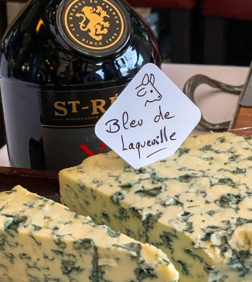 Bleu de Laqueuille cheese