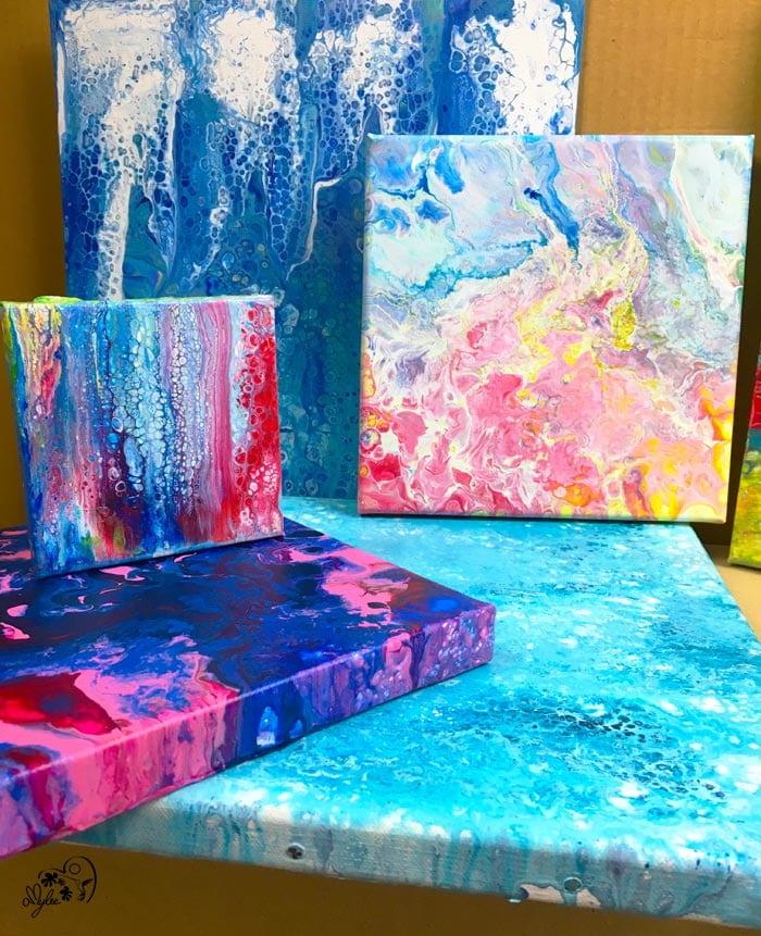 Comment Faire De La Peinture Acrylique Fluide : comment, faire, peinture, acrylique, fluide, Peinture, Fluide:, Technique, L'Acrylic, Pouring