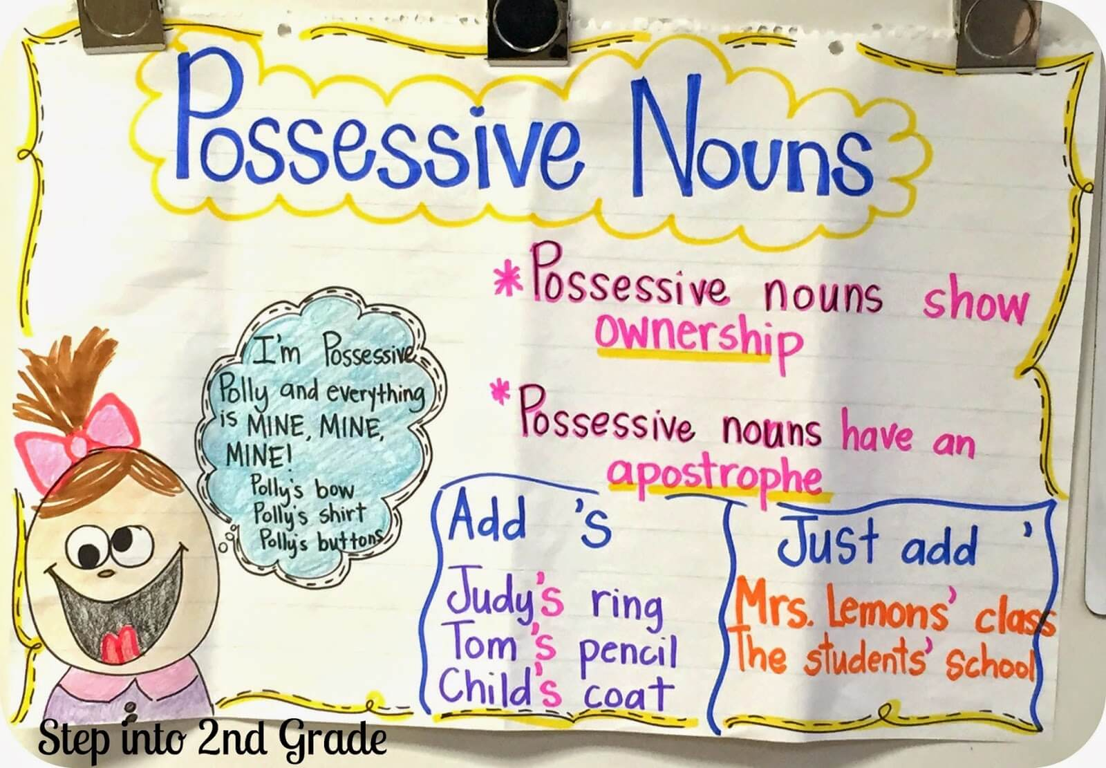 Possessive Nouns - Amy Lemons [ 1111 x 1600 Pixel ]
