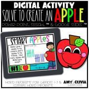 Apple Themed Digital Math Activity
