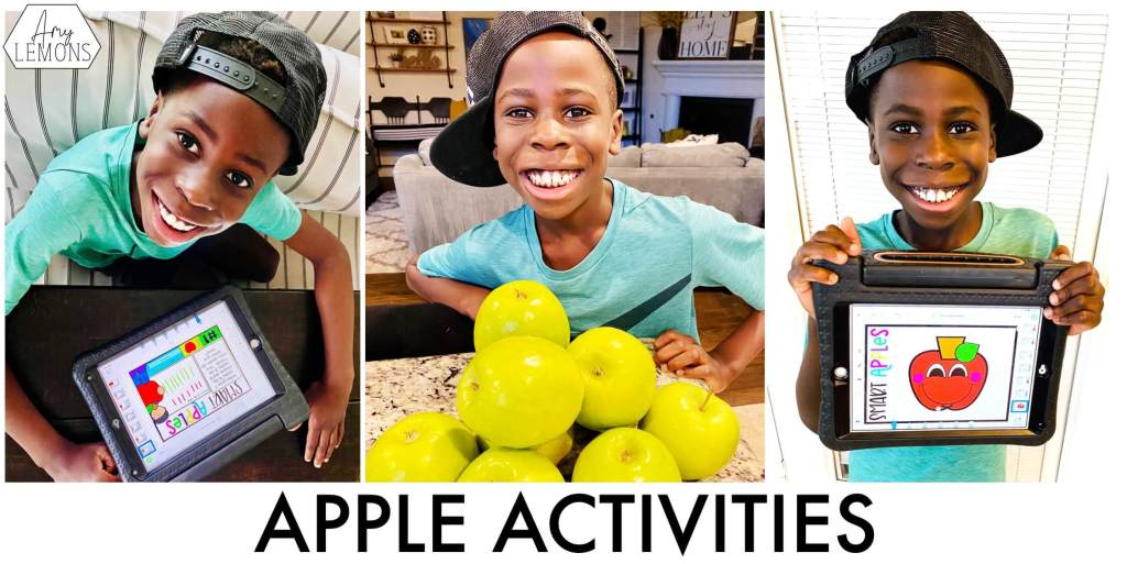 Apple sauce and Apple activities for States of Matter Lesson