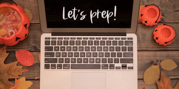 Blog Post Images - Preptober Checklist