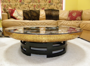 mandala table side view