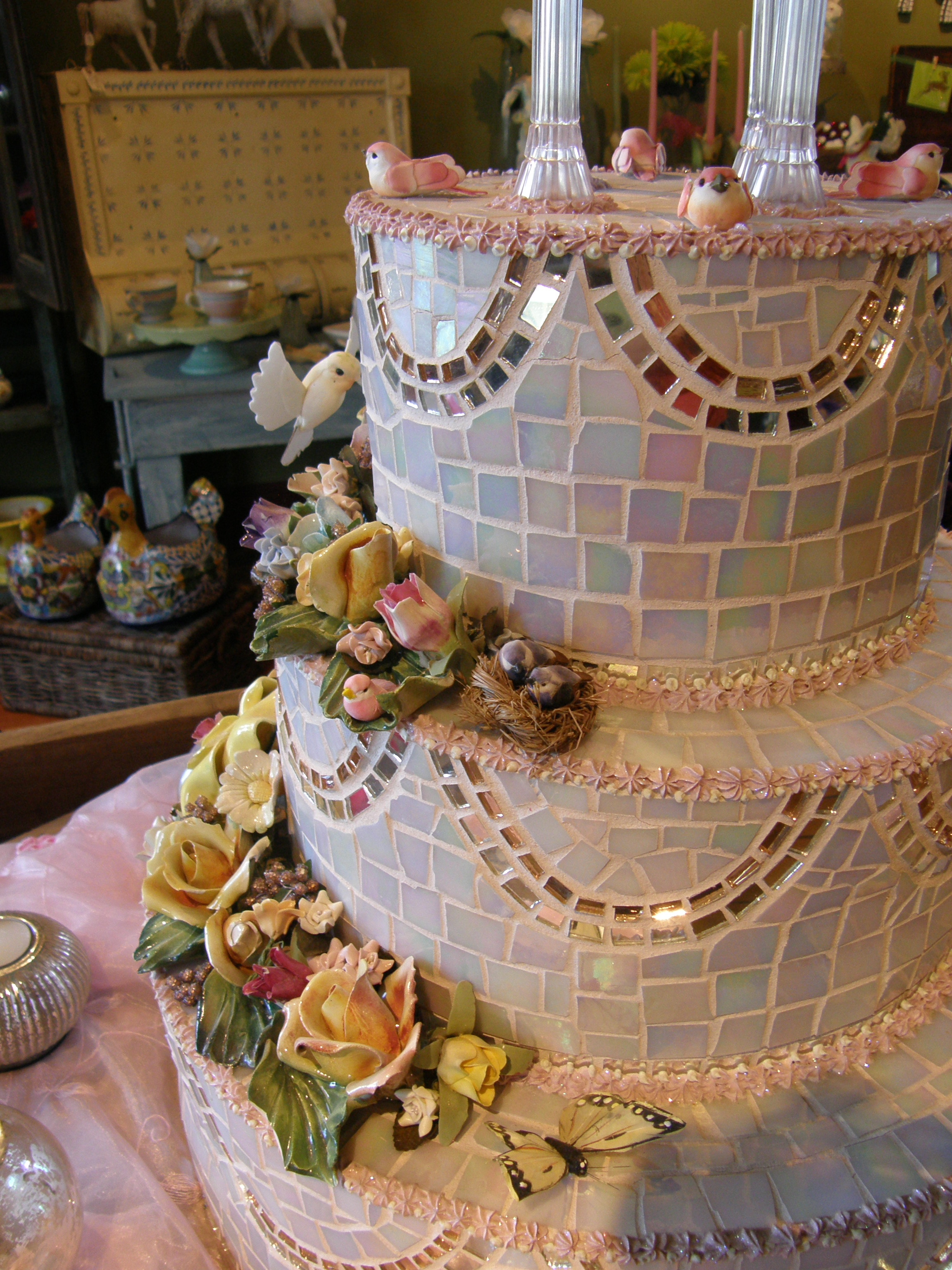Wedding Cake side