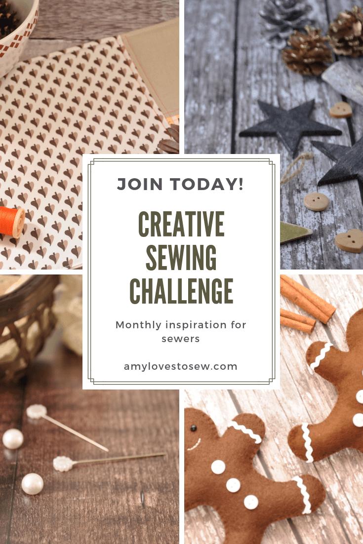 Creative Sewing Challenge December