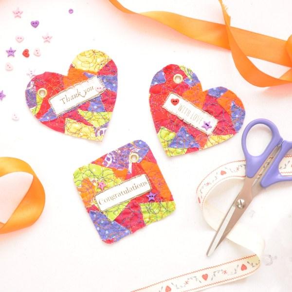 Scrap fabric tags