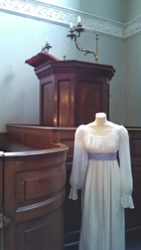 Headless Maria Bertram? Or just a nice display of Regency costume? You decide.