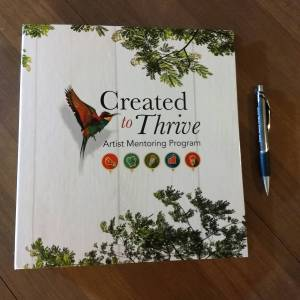 Created to Thrive mentoring program binder
